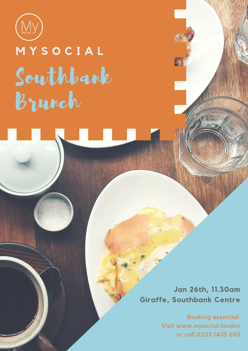 Southbank brunch, Jan 26th, 11.30am, click for more details and booking